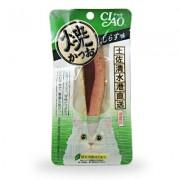 日本 CIAO 綠茶燒魚柳 (小銀魚味)