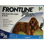 Frontline Plus  殺蝨滴頸藥水(3支裝) - (8週齡以上及10 - 20kg狗隻適用)