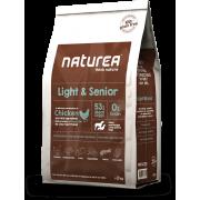 Naturea 無穀物 - 低熱量/老犬 53% 鮮雞肉糧 12kg