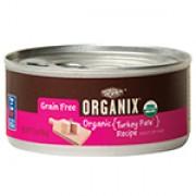 Organix 貓罐頭 - 火雞肉醬 [有機無穀物系列] 5.5oz/156g (24罐/箱)