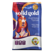 Solid Gold [Fit and Fabulous (Pollock)] 鱈魚低卡狗糧  - 24lb